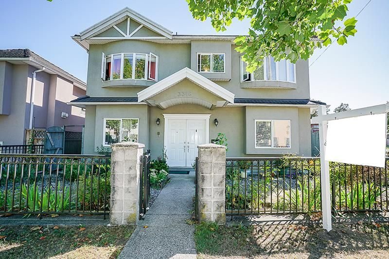 Main Photo: 3316 E 29 Avenue in Vancouver: Collingwood VE House for sale (Vancouver East)  : MLS®# R2232236
