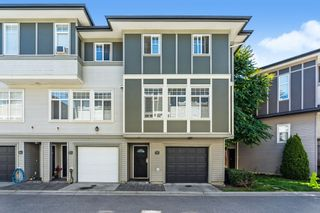 """Photo 1: 56 1010 EWEN Avenue in New Westminster: Queensborough Townhouse for sale in """"WINDSOR MEWS"""" : MLS®# R2597188"""