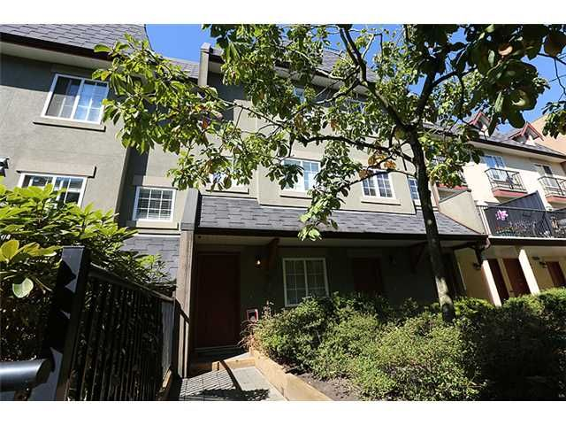 """Main Photo: 25 1561 BOOTH Avenue in Coquitlam: Maillardville Townhouse for sale in """"The Courcelles"""" : MLS®# V1026526"""