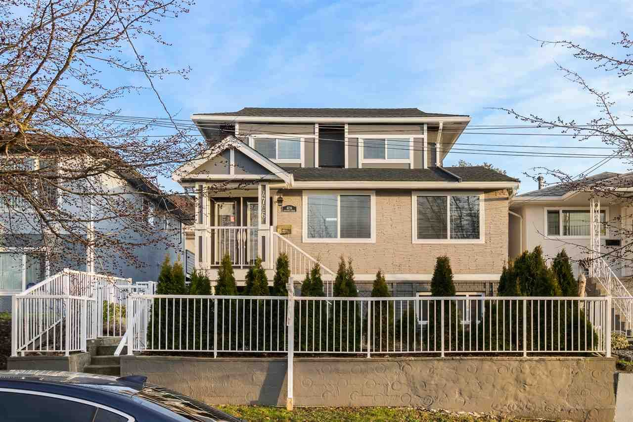 Main Photo: 4726 KILLARNEY Street in Vancouver: Collingwood VE House for sale (Vancouver East)  : MLS®# R2561534