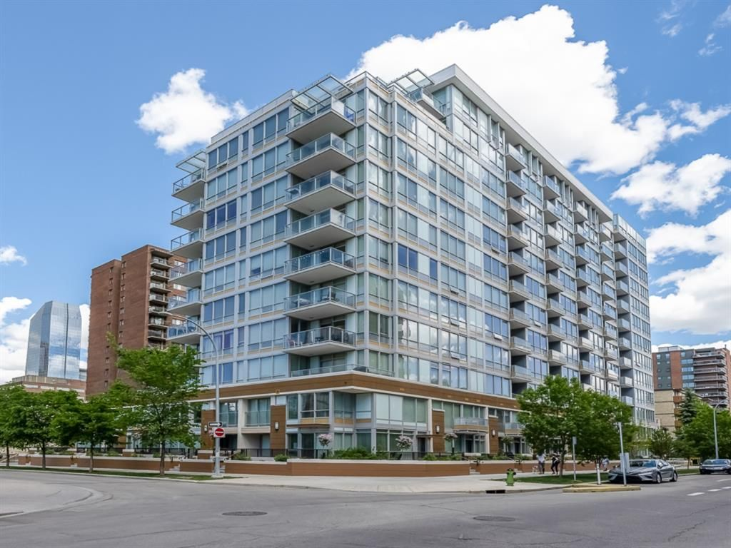 Main Photo: 1001 626 14 Avenue SW in Calgary: Beltline Apartment for sale : MLS®# A1120300