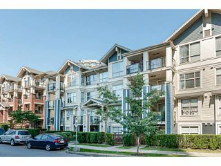 """Photo 1: 401 275 ROSS Drive in New Westminster: Fraserview NW Condo for sale in """"The Grove"""" : MLS®# V1128835"""