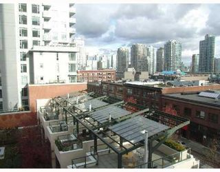 Photo 8: # 705 1155 HOMER ST in Vancouver: Condo for sale : MLS®# V759250
