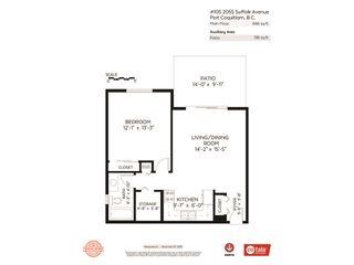 Photo 20: 105 2055 SUFFOLK Avenue in Port Coquitlam: Glenwood PQ Condo for sale : MLS®# R2421728