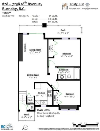 """Photo 18: 28 7238 18TH Avenue in Burnaby: Edmonds BE Townhouse for sale in """"HATTON PLACE"""" (Burnaby East)  : MLS®# R2513191"""