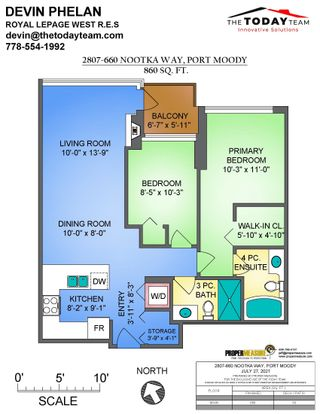 Photo 31: 2807 660 NOOTKA Way in Port Moody: Port Moody Centre Condo for sale : MLS®# R2610414
