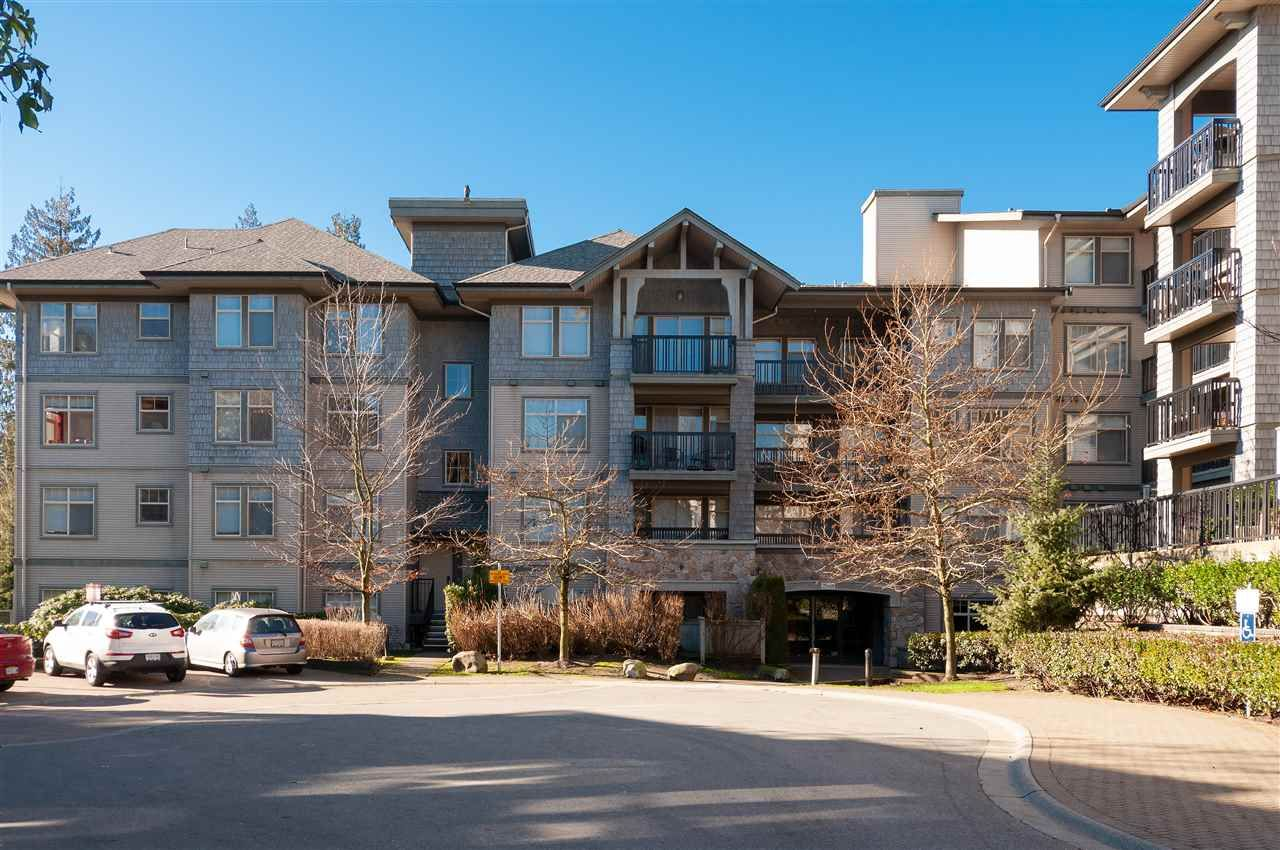 "Main Photo: 418 2988 SILVER SPRINGS Boulevard in Coquitlam: Westwood Plateau Condo for sale in ""SILVERSPRINGS"" : MLS®# R2542081"