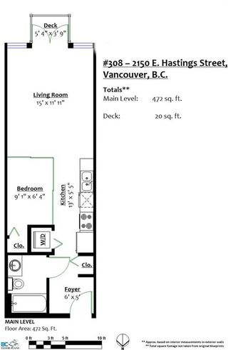 """Photo 19: 308 2150 E HASTINGS Street in Vancouver: Hastings Condo for sale in """"The View"""" (Vancouver East)  : MLS®# R2184893"""