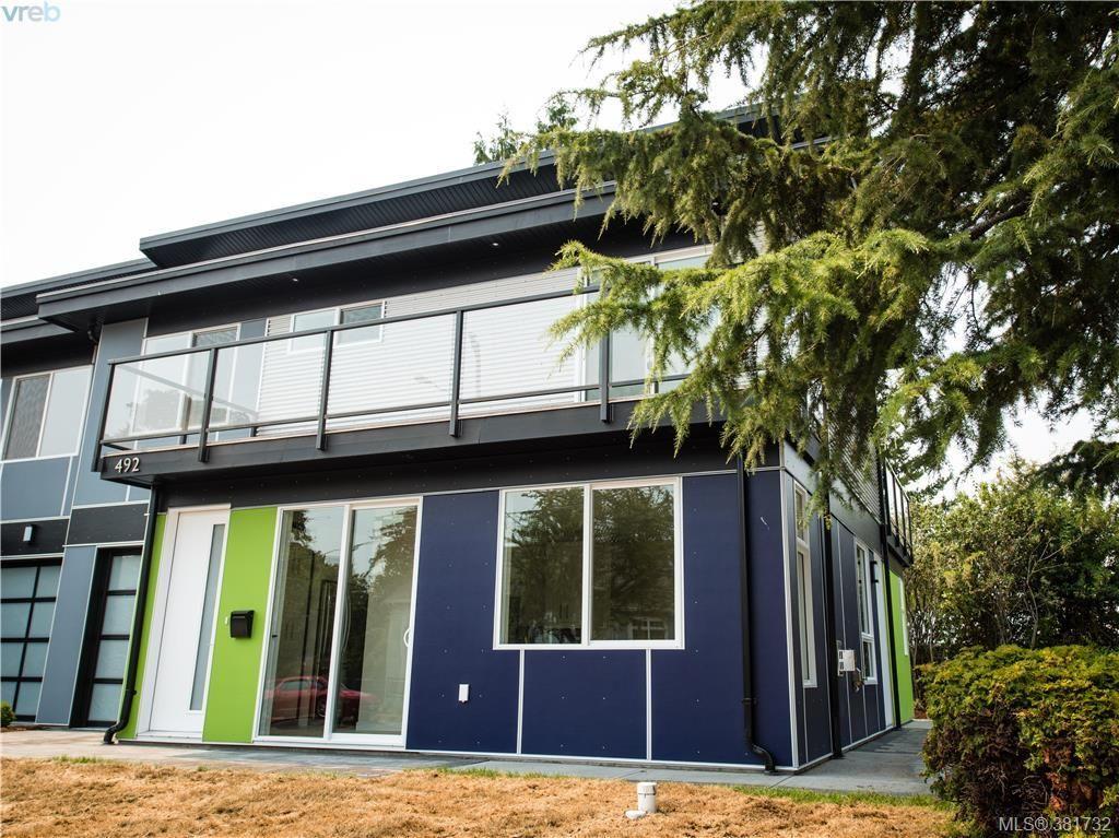 Main Photo: 492 South Joffre St in VICTORIA: Es Saxe Point Half Duplex for sale (Esquimalt)  : MLS®# 766807