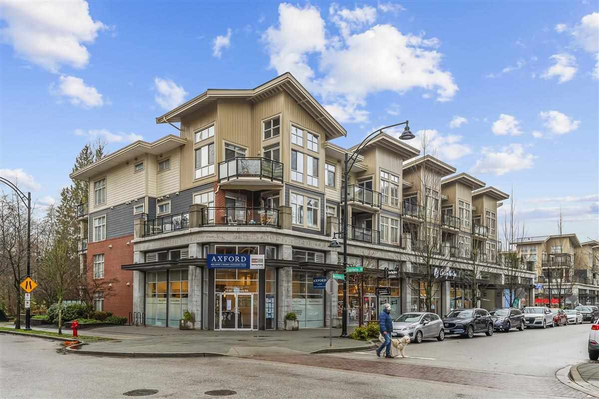 "Main Photo: 304 201 MORRISSEY Road in Port Moody: Port Moody Centre Condo for sale in ""Suter Brook Village"" : MLS®# R2538344"