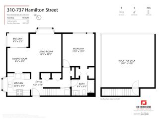 """Photo 25: 310 737 HAMILTON Street in New Westminster: Uptown NW Condo for sale in """"The Courtyards"""" : MLS®# R2597466"""