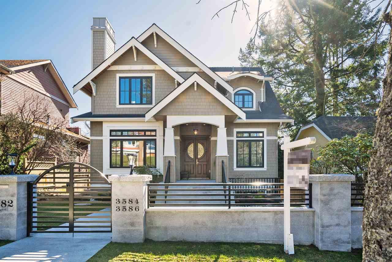 Main Photo: 3582 W 37TH AVENUE in Vancouver: Dunbar House for sale (Vancouver West)  : MLS®# R2293023