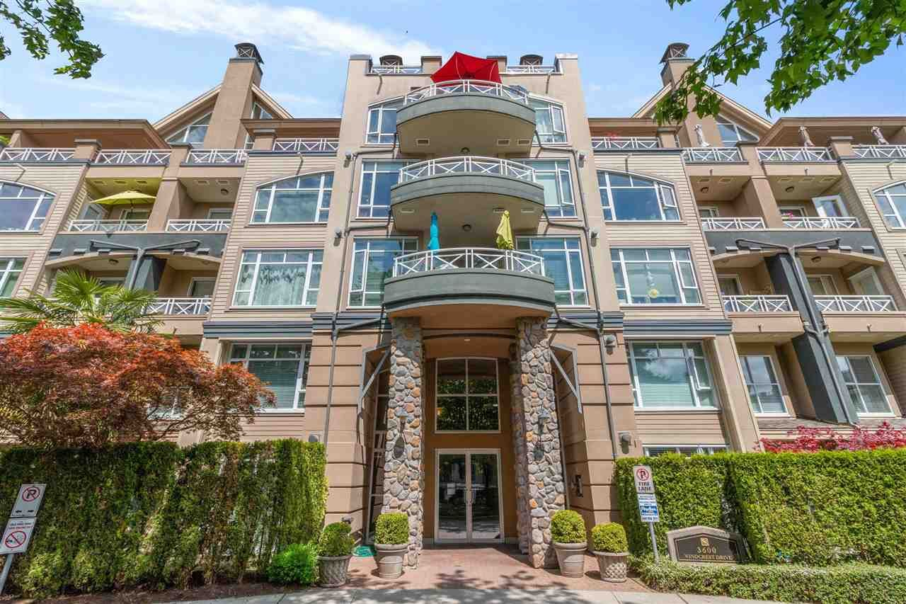 """Main Photo: 304 3600 WINDCREST Drive in North Vancouver: Roche Point Condo for sale in """"Windsong at Ravenwoods"""" : MLS®# R2583675"""