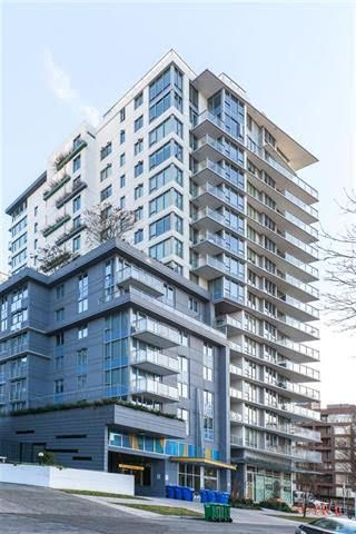 Main Photo: 607-1009 Harwood St in Vancouver: West End Condo for rent (Vancouver Downtown)