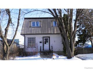Photo 1: 1170 Somerville Avenue in WINNIPEG: Manitoba Other Residential for sale : MLS®# 1604854