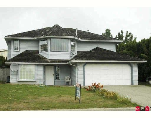 Main Photo: 32037 SORRENTO AV in Abbotsford: Abbotsford West House for sale : MLS®# F2915670
