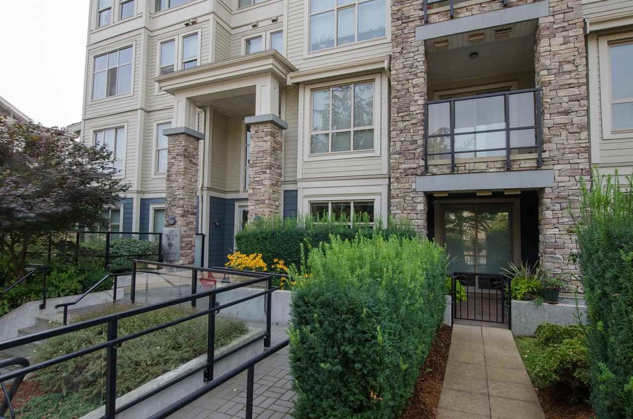 """Main Photo: 114 250 FRANCIS Way in New Westminster: Fraserview NW Condo for sale in """"THE GROVE"""" : MLS®# R2297975"""