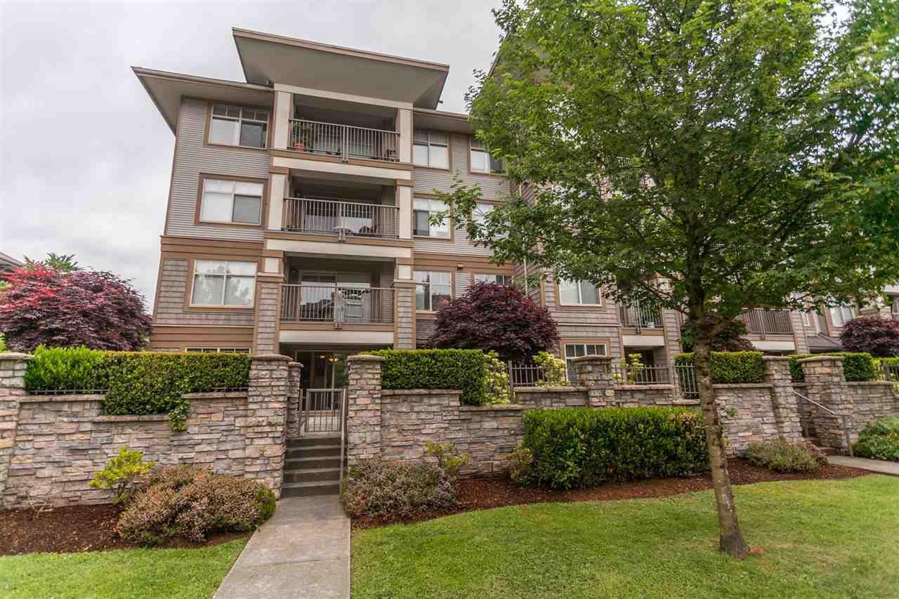 "Main Photo: 105 12238 224 Street in Maple Ridge: East Central Condo for sale in ""URBANO"" : MLS®# R2270630"