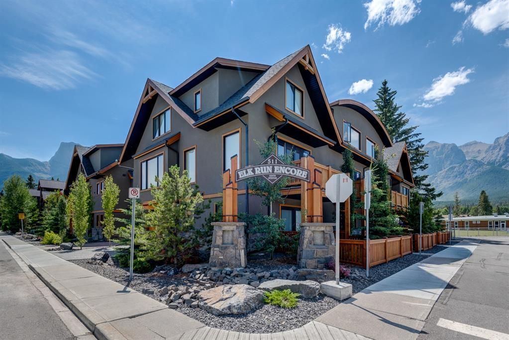 Main Photo: 7 511 6 Avenue: Canmore Row/Townhouse for sale : MLS®# A1089098