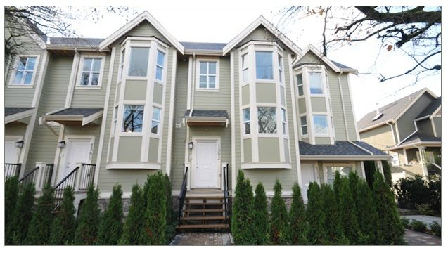 Main Photo: 1382 E 27TH Avenue in Vancouver: Knight Townhouse for sale (Vancouver East)  : MLS®# R2072288