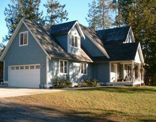 Photo 1: 960 SEAWARD Close in Gibsons: Gibsons & Area House for sale (Sunshine Coast)  : MLS®# V626769