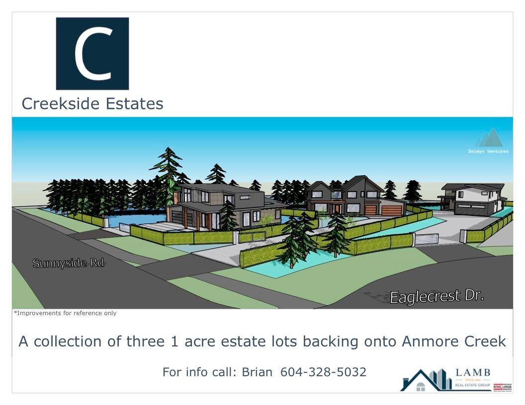 Main Photo: LOT 2 3060 SUNNYSIDE Road in Port Moody: Anmore Land for sale : MLS®# R2603441