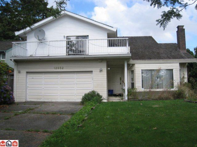 Main Photo: 12852 CARLUKE in Surrey: Queen Mary Park Surrey House for sale : MLS®# F1024392