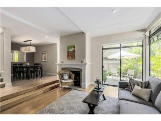 """Photo 5: 4451 ARBUTUS Street in Vancouver: Quilchena Townhouse for sale in """"Arbutus West"""" (Vancouver West)  : MLS®# V1135323"""