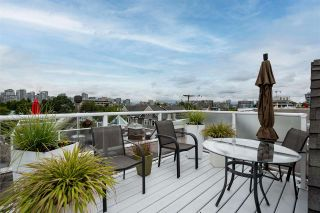 """Main Photo: 2251 HEATHER Street in Vancouver: Fairview VW Townhouse for sale in """"THE FOUNTAINS"""" (Vancouver West)  : MLS®# R2593764"""