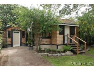 Photo 1: 1711 Haultain St in VICTORIA: Vi Jubilee House for sale (Victoria)  : MLS®# 539317