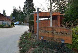 """Photo 1: 111 518 SHAW Road in Gibsons: Gibsons & Area Condo for sale in """"Cedar Gardens"""" (Sunshine Coast)  : MLS®# R2538487"""