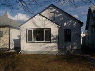 Photo 1: 443 Seymour Street in WINNIPEG: North End Residential for sale (North West Winnipeg)  : MLS®# 1005719