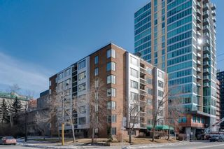 Photo 1: 360 310 8 Street SW in Calgary: Eau Claire Apartment for sale : MLS®# A1064376