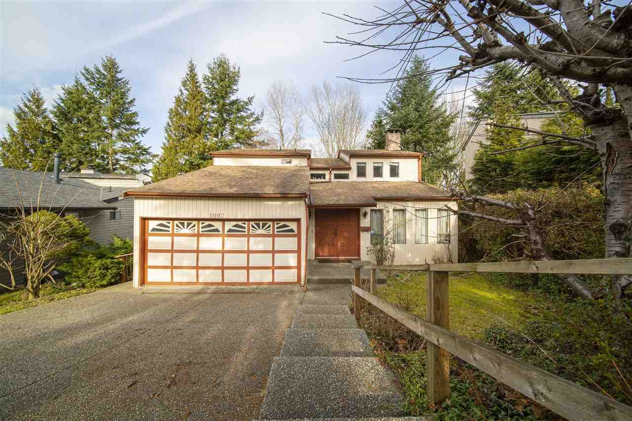 Main Photo: 1007 WINDWARD Drive in Coquitlam: Ranch Park House for sale : MLS®# R2544510