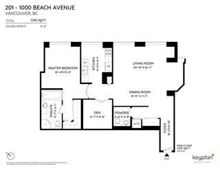 "Photo 7: 201 1000 BEACH Avenue in Vancouver: Yaletown Condo for sale in ""1000 Beach"" (Vancouver West)  : MLS®# R2535183"