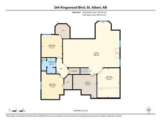 Photo 50: 244 Kingswood Boulevard: St. Albert House for sale : MLS®# E4241743