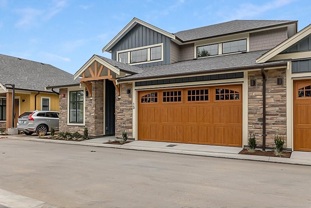 """Main Photo: 15 4750 228 Street in Langley: Salmon River Townhouse for sale in """"DENBY"""" : MLS®# R2616812"""