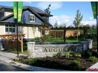"""Photo 1: 58 18199 70TH Avenue in Surrey: Cloverdale BC Townhouse for sale in """"Augusta at Provinceton"""" (Cloverdale)  : MLS®# F1102526"""
