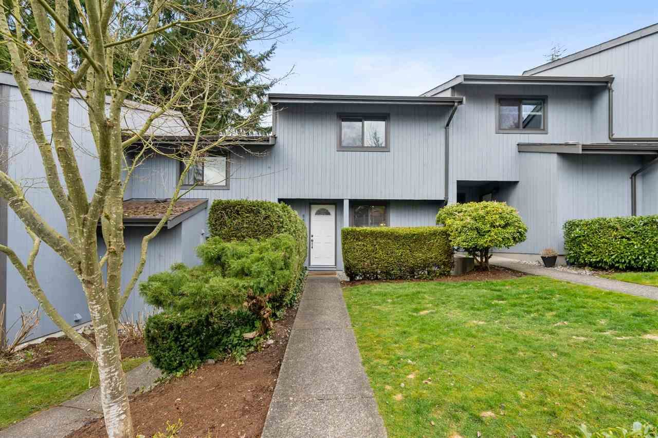 """Main Photo: 887 CUNNINGHAM Lane in Port Moody: North Shore Pt Moody Townhouse for sale in """"WOODSIDE VILLAGE"""" : MLS®# R2555689"""