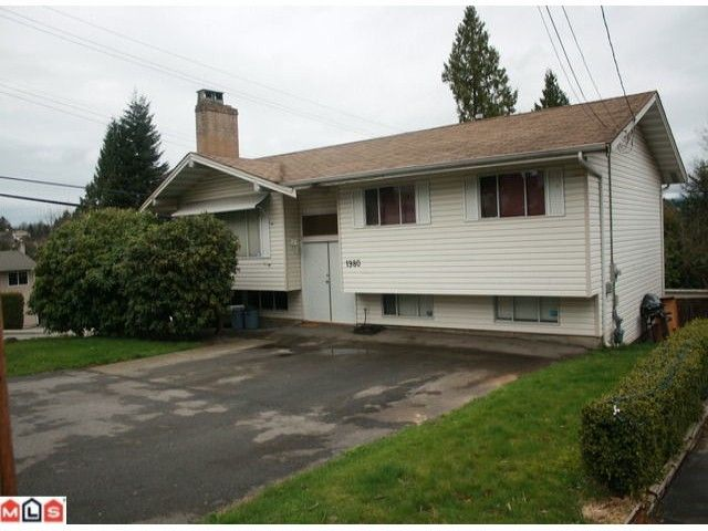"""Main Photo: 1980 DAHL in Abbotsford: Central Abbotsford House for sale in """"South East Abby"""" : MLS®# F1108262"""