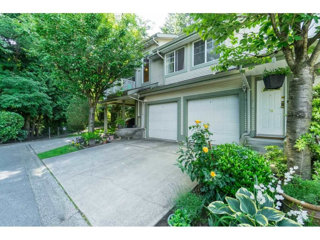 "Main Photo: 76 8892 208 Street in Langley: Walnut Grove Townhouse for sale in ""Hunter's Run"" : MLS®# R2466617"