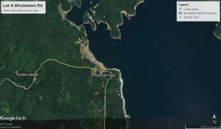 Photo 1: Lot A Whaletown Rd in : Isl Cortes Island Land for sale (Islands)  : MLS®# 858216