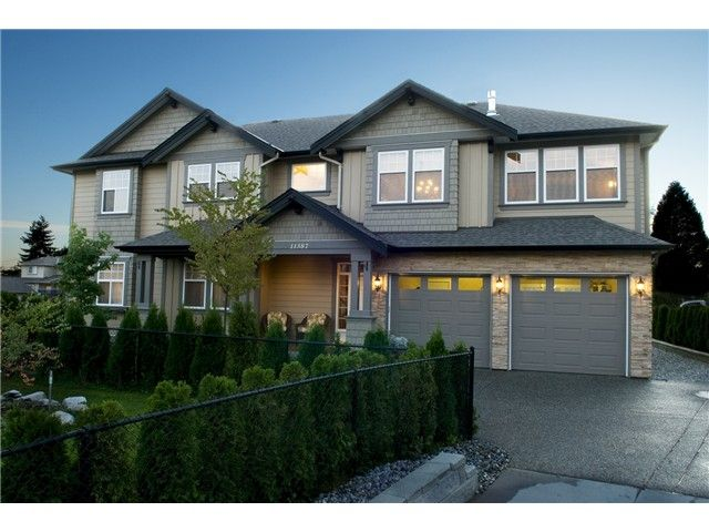 """Main Photo: 11387 240A ST in Maple Ridge: East Central House for sale in """"SEIGLE CREEK ESTATES"""" : MLS®# V1016175"""