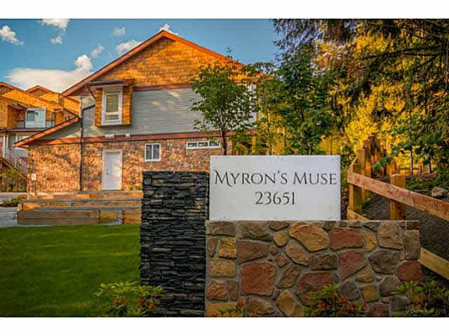 """Main Photo: 49 23651 132 Avenue in Maple Ridge: Silver Valley Townhouse for sale in """"MYRON'S MUSE AT SILVER VALLEY"""" : MLS®# V1132336"""