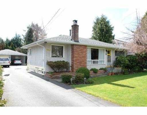 Main Photo: 9860 BERRY Road in Richmond: South Arm House for sale : MLS®# V696976