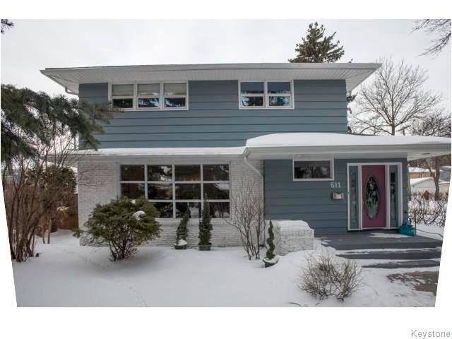 Main Photo: 611 Niagara Street in WINNIPEG: River Heights / Tuxedo / Linden Woods Residential for sale (South Winnipeg)  : MLS®# 1603747