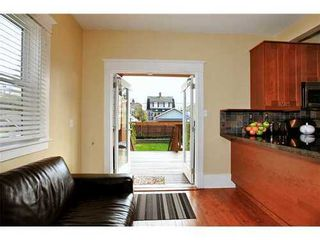 Photo 5: 116 20TH Ave W in Vancouver West: Cambie Home for sale ()  : MLS®# V943731