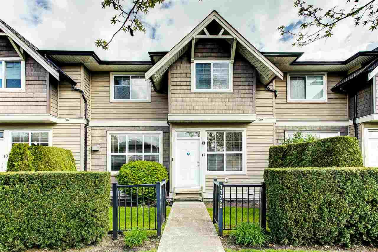 """Main Photo: 11 11720 COTTONWOOD Drive in Maple Ridge: Cottonwood MR Townhouse for sale in """"Cottonwood Green"""" : MLS®# R2576699"""