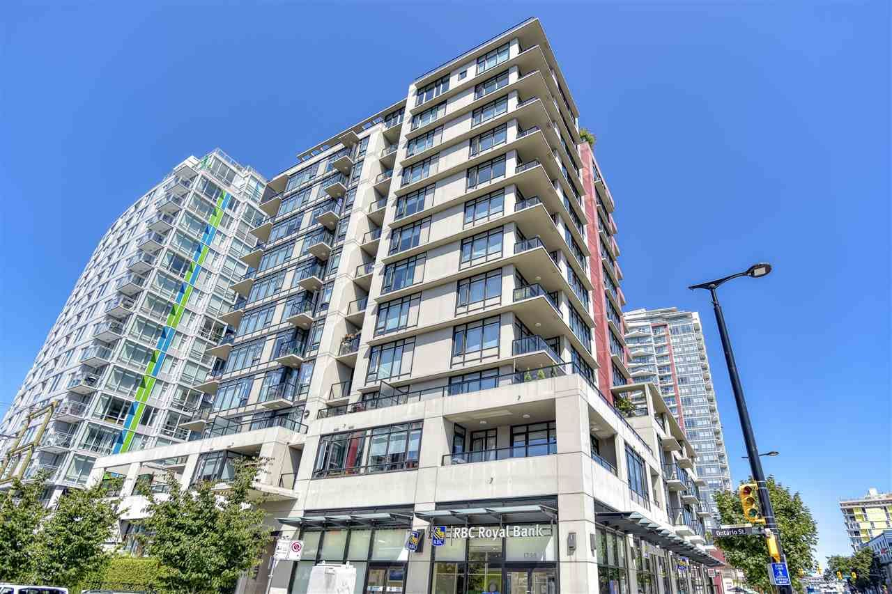 "Photo 1: Photos: 1102 1788 ONTARIO Street in Vancouver: Mount Pleasant VE Condo for sale in ""Proximity"" (Vancouver East)  : MLS®# R2478098"
