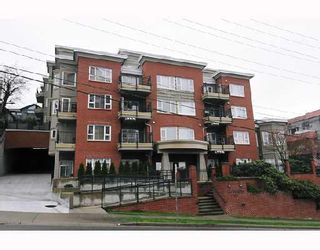 """Photo 1: 308 221 11TH Street in New_Westminster: Uptown NW Townhouse for sale in """"THE STANFORD"""" (New Westminster)  : MLS®# V746674"""